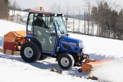 Mit dem ISKI 32 warm und trocken durch den Winter dank Kabine